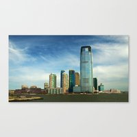 new jersey Canvas Prints featuring New Jersey by Raymond Earley