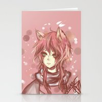 leon Stationery Cards featuring Leon by MilkNCreams