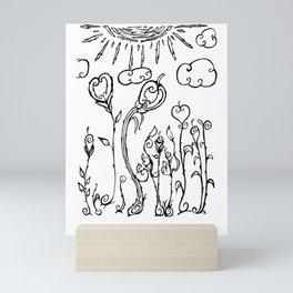 Hear Today, Gone Tomorrow Mini Art Print