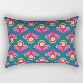 Betty's Garden Rectangular Pillow