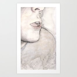 And What Art Print