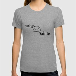 Take a coffee and smile T-shirt