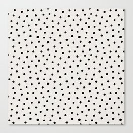 Perfect Polka Dots Canvas Print