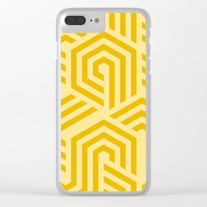 Crazy Vibes Clear iPhone Case