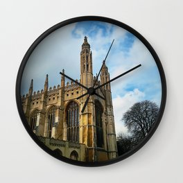 Kings college chapel Wall Clock