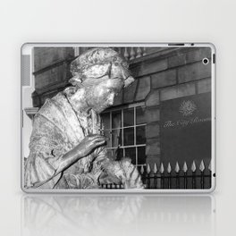 The Leics Seemstress Black And White Laptop & iPad Skin