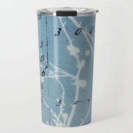 Floral Calculations Travel Mug