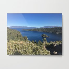 Tahoe in Fall Metal Print