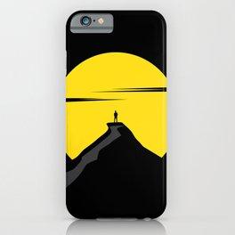 Alone iPhone Case