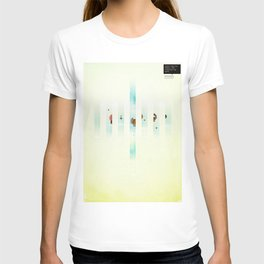 Fence: Facebook Shapes & Statuses T-shirt