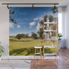 Winter Clouds Wall Mural