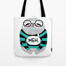 whistleburg - Meh Sloth Tote Bag