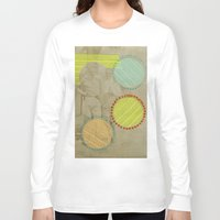 cocktail Long Sleeve T-shirts featuring Fresh Cocktail by Naomi Vona