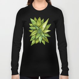 Aloe Vera – Green Palette Long Sleeve T-shirt