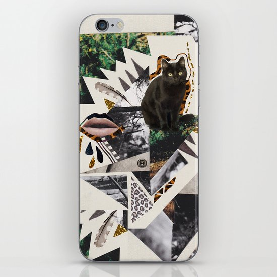 AYAHUASCA CAT iPhone & iPod Skin