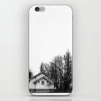haunted mansion iPhone & iPod Skins featuring Haunted Mansion  by BZP ART