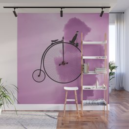 Straight On Wall Mural
