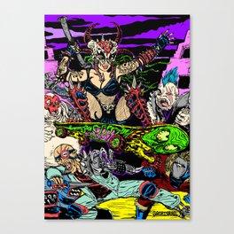 Skater Girl Canvas Print