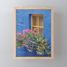 Blue House -Ireland Framed Mini Art Print