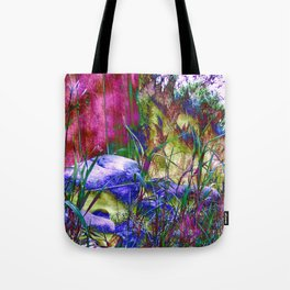 Grass Party Tote Bag