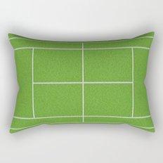 Tennis Court Rectangular Pillow