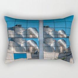 Reflection of Guggemheim Rectangular Pillow