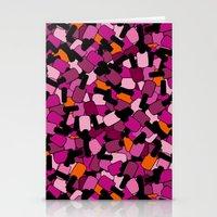 nail polish Stationery Cards featuring Nail Polish by ts55