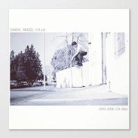 daryl Canvas Prints featuring Daryl by Adrien Marciel