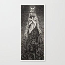 Midnight Queen Canvas Print