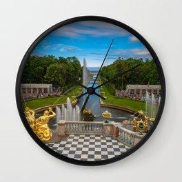 Peterhof Wall Clock