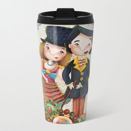 Die Puppe - Ernest Lubitsch Metal Travel Mug