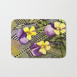 Pansies Bath Mat