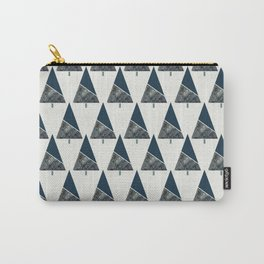 Blue Xmas #society6 #blue #xmas Carry-All Pouch
