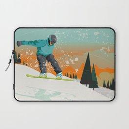 Snowboard Jump Laptop Sleeve