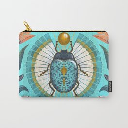 Egyptian Scarab Carry-All Pouch