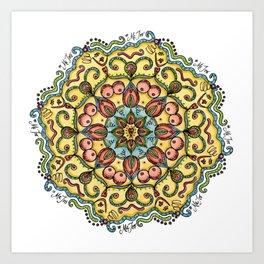 #MeToo Mandala Art Print