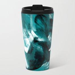 Abstract Artwork Petrol #1 Travel Mug