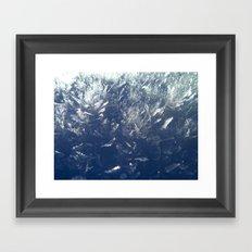 Snow Crystals Framed Art Print