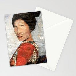Geisha/Newspaper Serie Stationery Cards