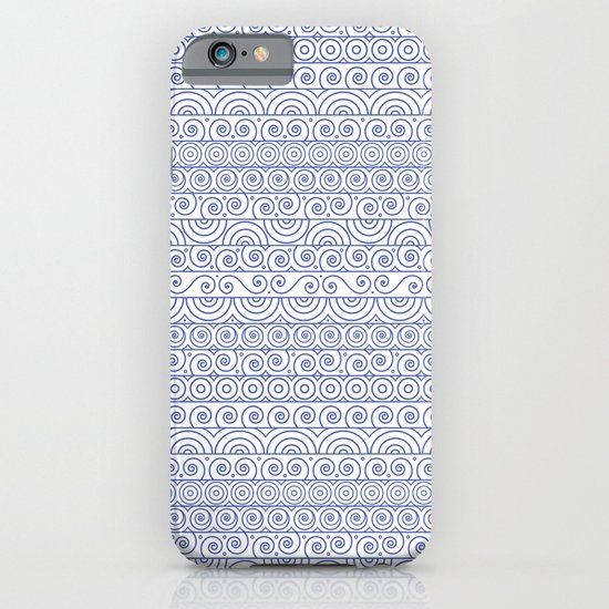 Circles & Curls Craze iPhone & iPod Case