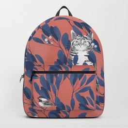 in the wild // repeat pattern Backpack