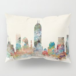 indianapolis indiana skyline Pillow Sham
