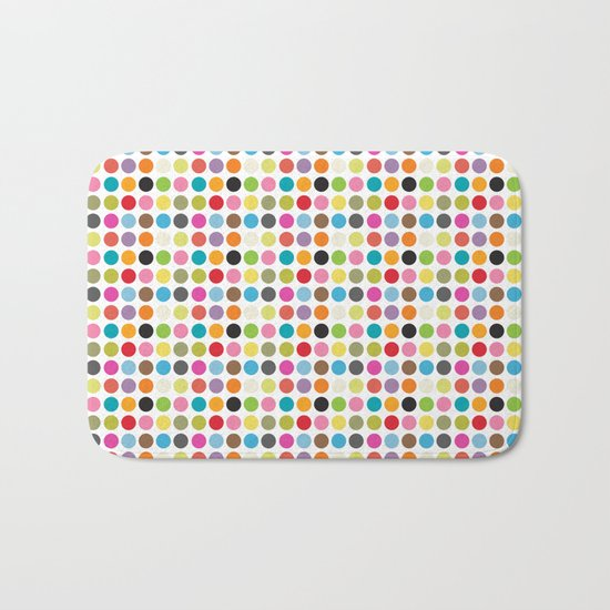 color pattern 6 Bath Mat