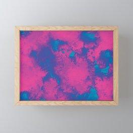 Cotton Candy Clouds Framed Mini Art Print