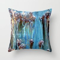 antique Throw Pillows featuring Antique by Anne Seltmann