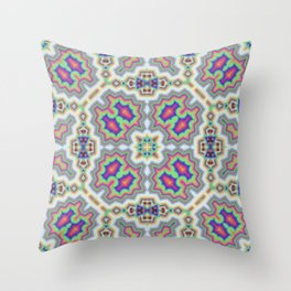 Ethereum Mosaic no.2 Throw Pillow