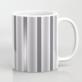 Gray Stripes Coffee Mug
