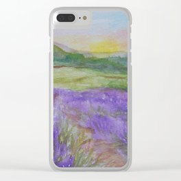 An Evening in Provence WC150601-12 Clear iPhone Case