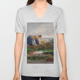 The Mussel Gatherers - Digital Remastered Edition Unisex V-Neck