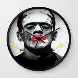 Frankenstein Drag Wall Clock